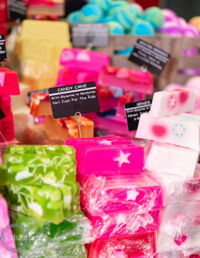 Manchester Markets 2018-5-2 soaps smellies perfume bath treat